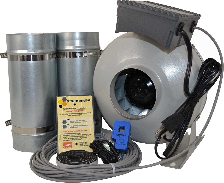 Centrasense Technology Dryer Booster Fan Kit UL-705 Listed