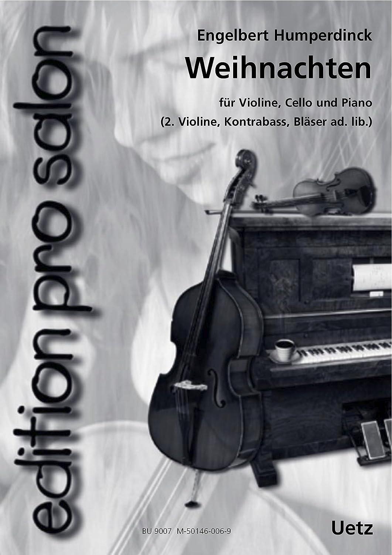Weihnachten für Salonensemble (Klavierpartitur und Stimmen) (edition ...