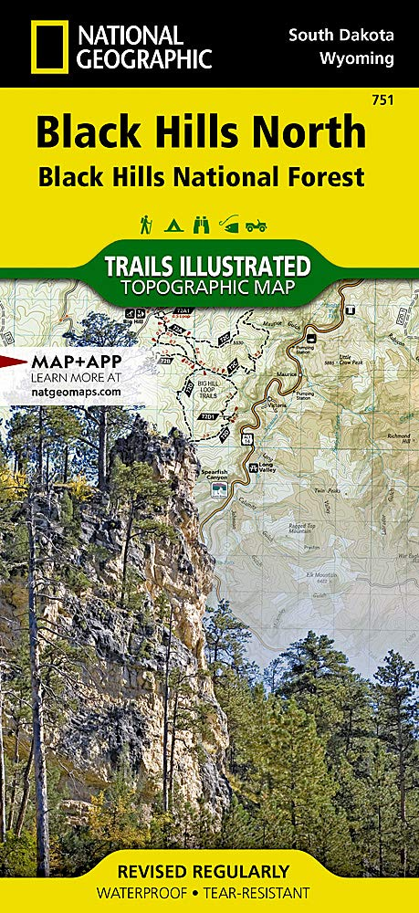 Black Hills North Black Hills National Forest National Geographic Trails Illustrated Map 751 National Geographic Maps 0749717011656 Amazon Com Books