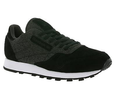 fdace4844df Reebok Classic Leather KSP Men s Sneaker Black AR0574