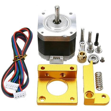 Semoic para Impresora 3D MK8 Extrusora Kit con Motor Paso a Paso ...