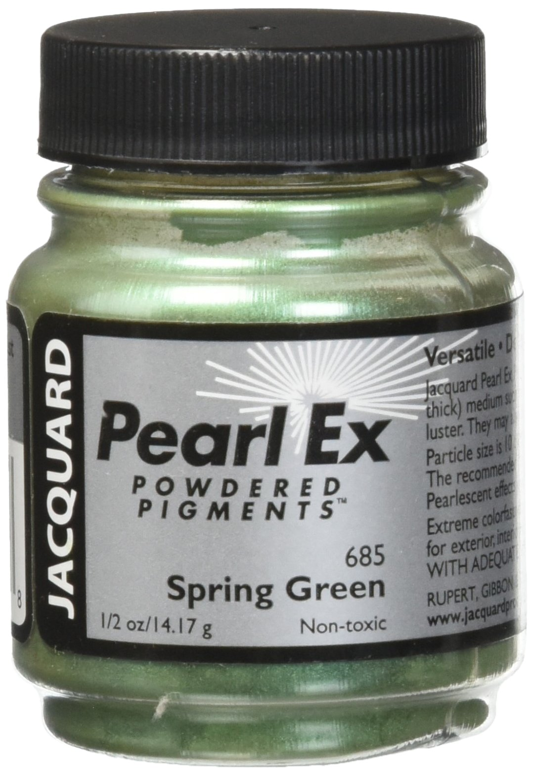 Pigmento Jacquard Pearl Ex 14gr. Verde Primavera