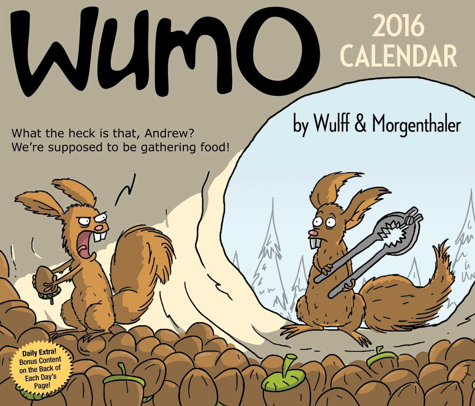 WuMo 2016 Day Day Calendar product image