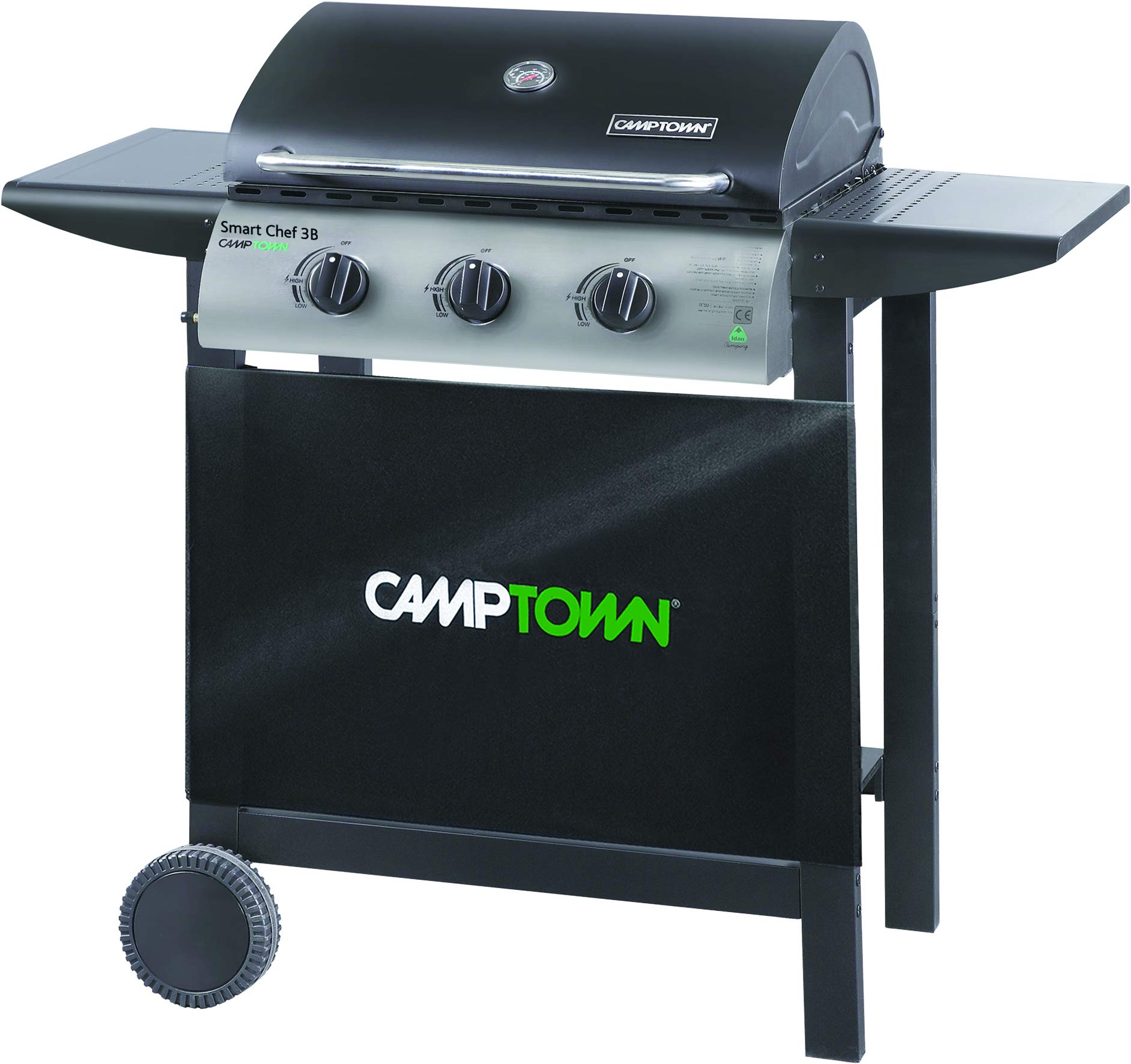 camptown Gas Grill with 3 Burners 40,500BTU