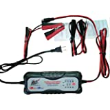 Alphamoto 7 Stage 12v Automatic Motorcycle Car Truck Vehicles ATV Moto Cross Boats Trucks Cars Water craft Golf carts Lawn Mower Smart Battery Charger Tender Maintainer