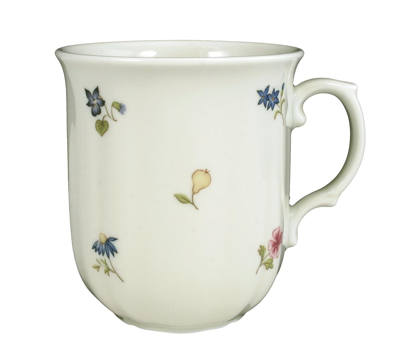 Seltmann Weiden Marie Luise Dekor Streublume ohne blauen Rand Untertasse 14,5 cm