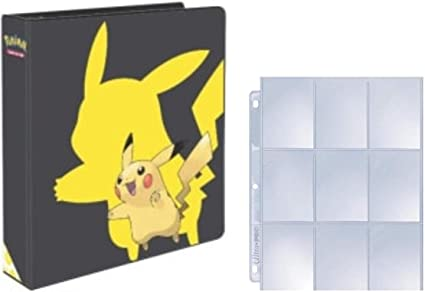 2/&Quot; Ultra Pro Pokemon Pikachu 3-Ring Binder Card Album