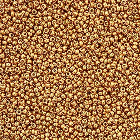 miyuki 11//0/perline Duracoat Galvanized Yellow Gold/ /24/g