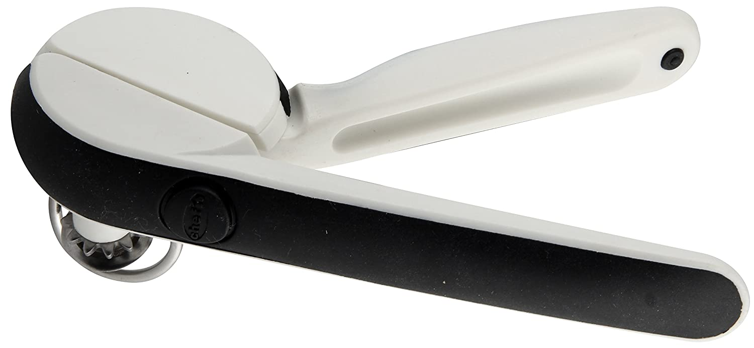 eacba749a61 Buy Chef n EzSqueeze One-Handed Can Opener (Black and Meringue) Online at  Low Prices in India - Amazon.in
