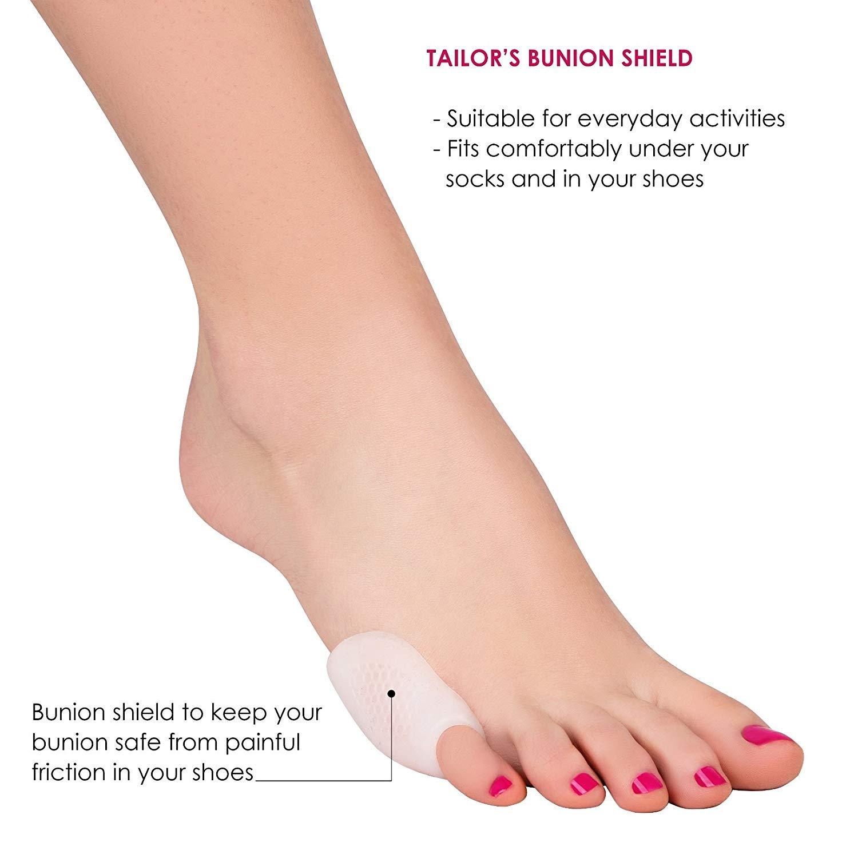 Alivio de Juanete(12pcs) - Trata el dolor de pies, corrige juanetes, juanetes de sastre, el dolor en el dedo gordo del pie, y mucho más.