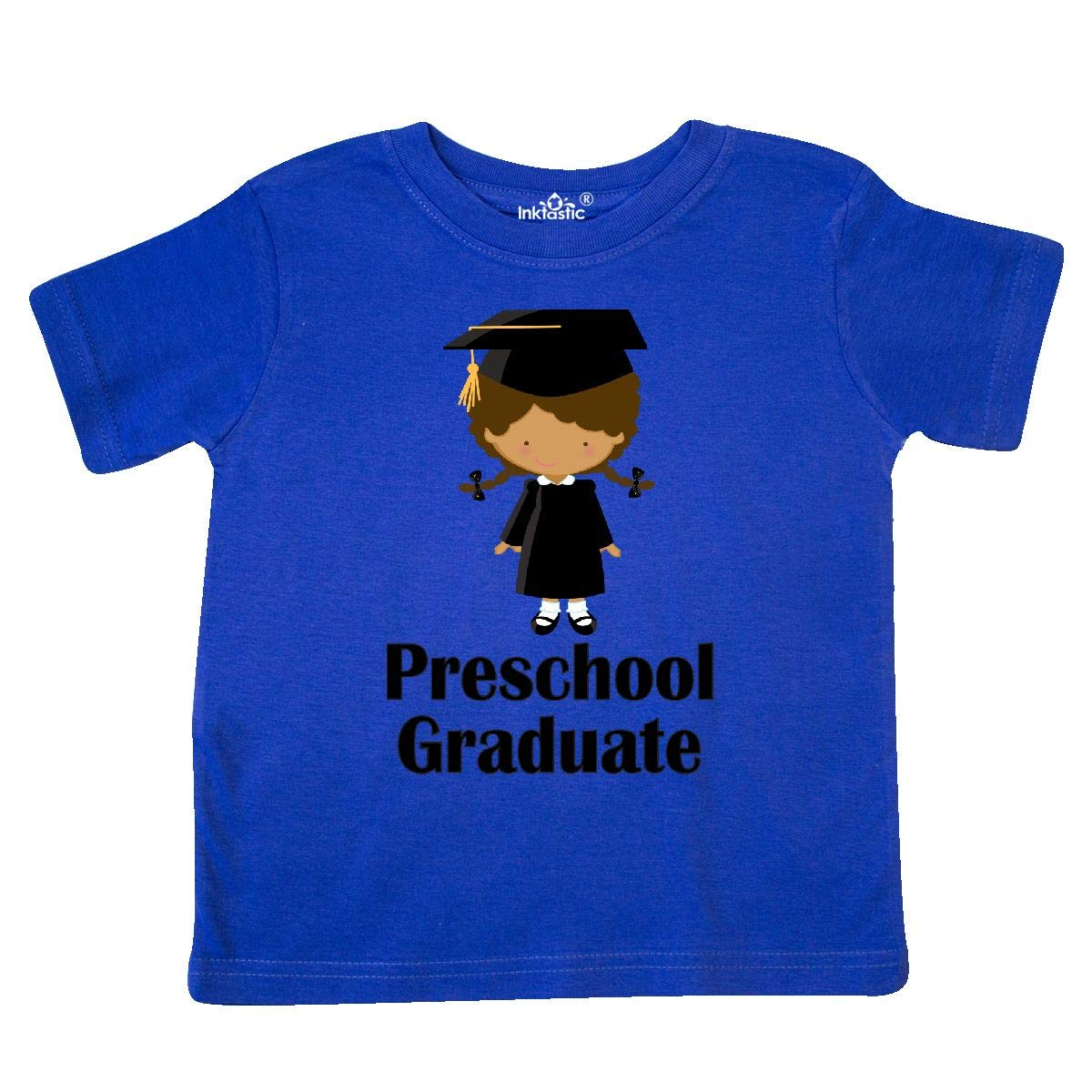 inktastic Preschool Graduate Girl Ethnic Toddler T-Shirt