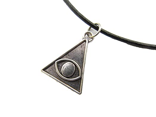 Amazon third eye necklace triangle pendant evil eye necklace third eye necklace triangle pendant evil eye necklace triangle eye jewelryeye mozeypictures Image collections