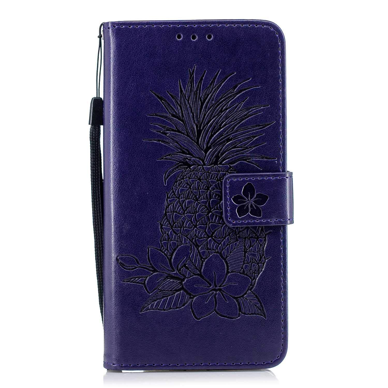 The Grafu® Coque Portefeuille pour Xiaomi Redmi Note 5A, Housse en Cuir de Protection avec Emplacements pour Cartes et Monnaie, Anti Rayures Support Coque, Violet
