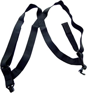 product image for Holdup Brand Black hidden Undergarment Hip Clip no-alarm Suspenders with Patented Gripper Clasps
