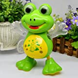 Toykart Dancing Frog with Music Flashing Lights and Real Dancing Action, Multi Color