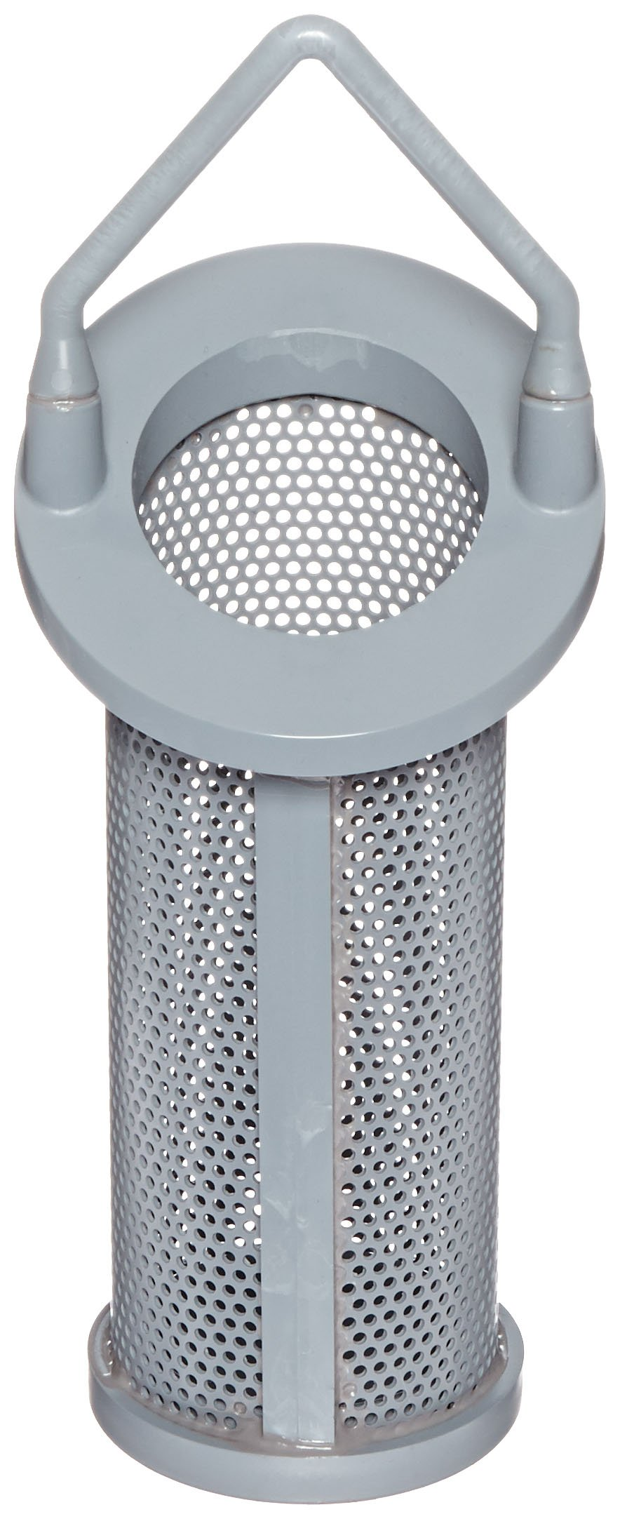 Hayward BS22001/8 Series SB and DB Extra/Replacement Basket for 1-1/4'', 1-1/2'' and 2'' Strainer, CPVC, 1/8'' Perforation by Hayward Flow Control