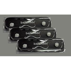 BaKblade Shaver Blade Set (Pack of 3)