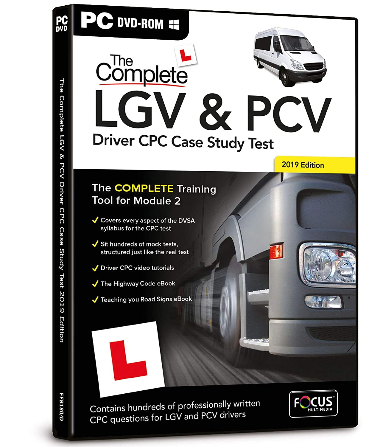 The Complete LGV and PCV Driver CPC Case Study Test: Focus Multimedia:  Amazon.co.uk: Software