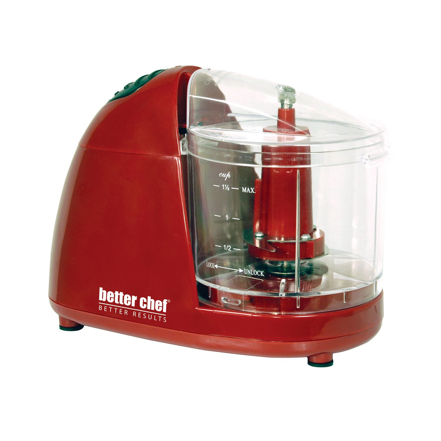 Better Chef Compact Chopper - Red