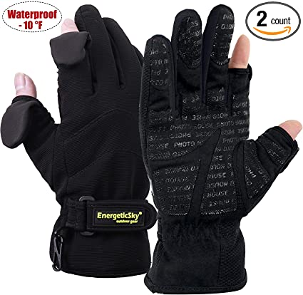 L Mens Ski Winter Gloves Windproof Waterproof Warm Snowboard Outdoor Sports