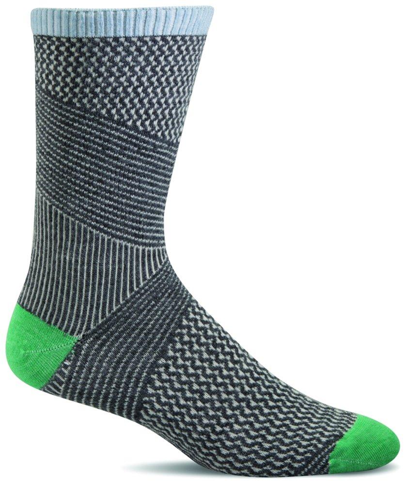 Charcoal Goodhew Women's It's A Wrap Socks