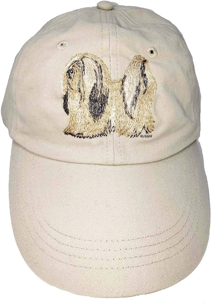 Bernard Puppy Embroidery Design Cotton Custom American Flag Hat St