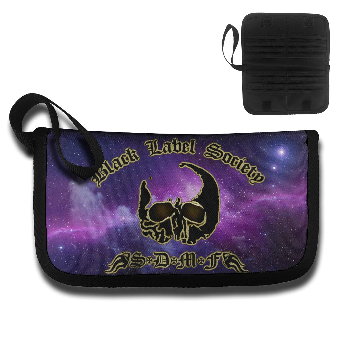 4.6oz KELTY S LANCE Black Label Society Convenient Unisex Card Bag,with A Handle,Travel Wallet