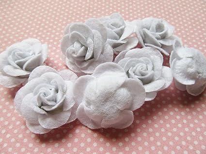 Pcs cm diameter white flower by designourlife on zibbet