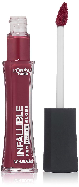 L'Oréal Paris Infallible Lip Pro Matte Gloss, Forbidden Kiss, 0.21 fl. oz.