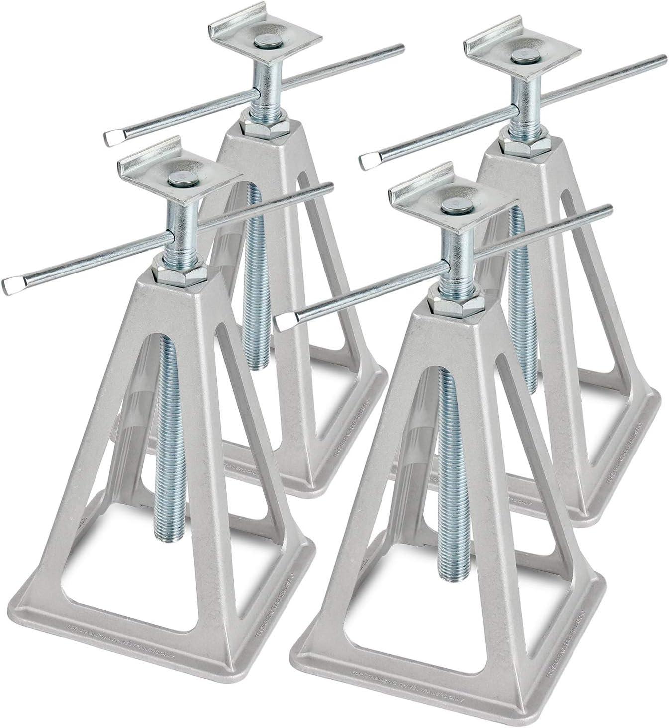Profil L Prise en L Kit de support en aluminium Charge maximale : 1000 kg Hauteur : 42 cm