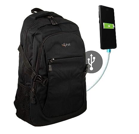 Airel Mochila Inteligente | Mochila Portátil 15.6 Pulgadas | Mochila con Conector USB | Daypack Portátil