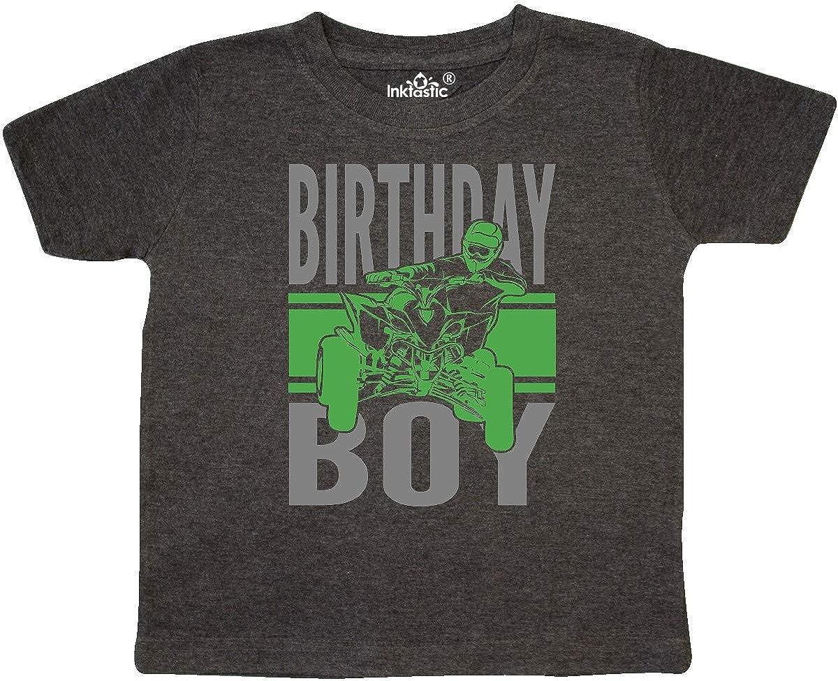 inktastic Birthday Boy Off-Roading ATV Toddler T-Shirt