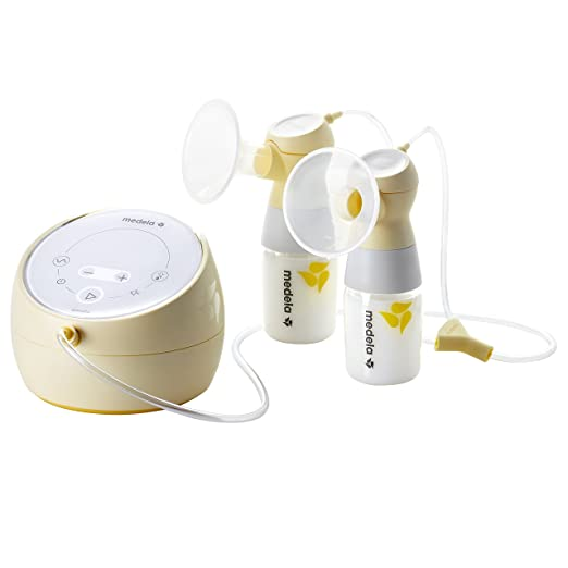 Medela Sonata Smart Double Electric Breast Pump, Connects to MyMedela App, Hospital Performance, Quiet, Touch Screen Display, Rechargeable Battery, Designed with You and Your Baby in Mind