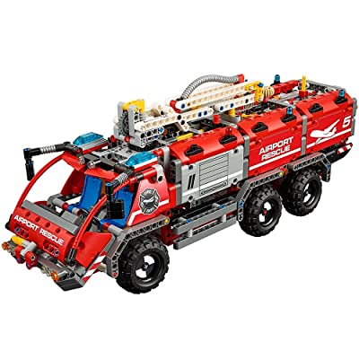 LEGO Technic Airport Rescue Vehicle 42068 Building Kit (1094 Piece): Toys & Games