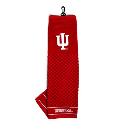 Amazon.com : Team Golf NCAA Indiana Hoosiers Embroidered Golf Towel on embroidered wedding towels, embroidered skating towels, embroidered bowling towels, embroidered tea towels, embroidered guest towels, printed towels, embroidered shooting towels, embroidered camping towels, embroidered bathroom towels, embroidered flour sack towels, embroidered linen towels, embroidered hooded towels, embroidered wedges, embroidered volleyball towels, embroidered easter towels, embroidered microfiber towels, embroidered fishing towels, embroidered kitchen towels, embroidered bar towels, embroidered boat towels,