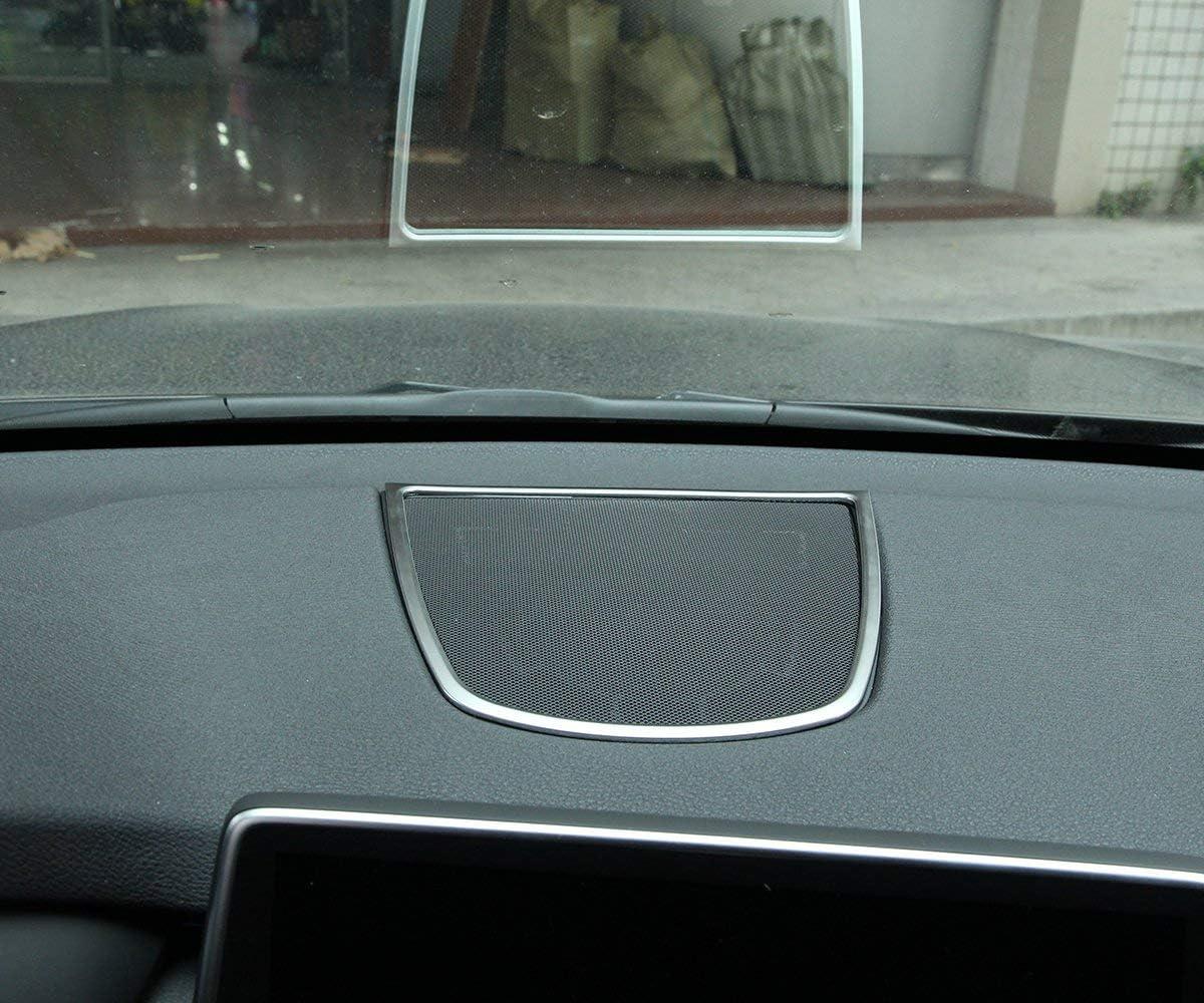 2015 f/ür BMW X6 F16 2015 ABS Chrom Auto Armaturenbrett Lautsprecher Rahmen Blende Aufkleber Zubeh/ör TOP-Auto f/ür BMW X5 F15 2014