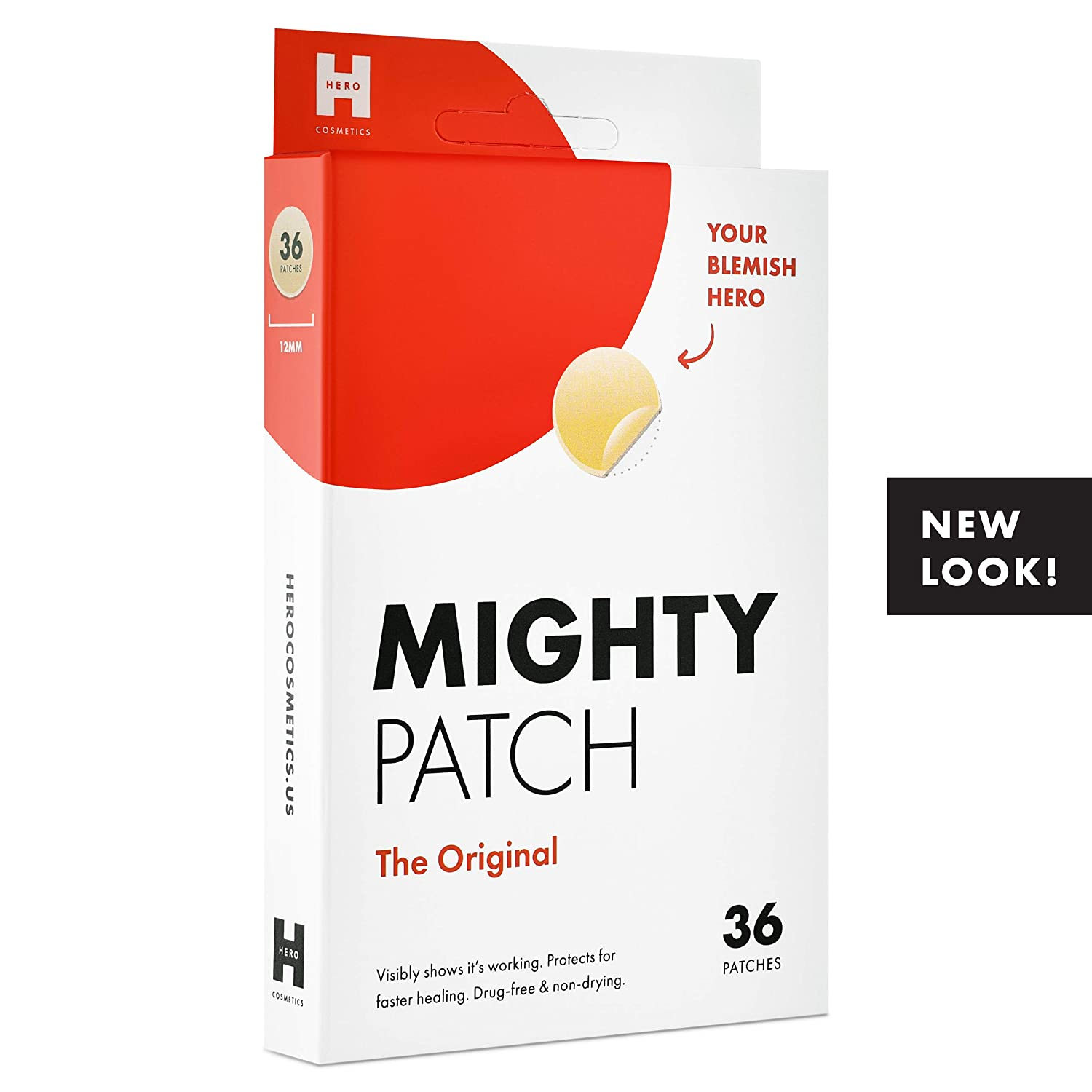 Hero Cosmetics Mighty Patch Hydrocolloid Acne Absorbing Spot Dot