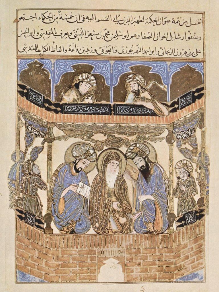 Lais Puzzle Pittore iracheno del 1287 - Gli scritti dei fratelli più Forti, autori nel Loro Ambiente 2000 Pezzi