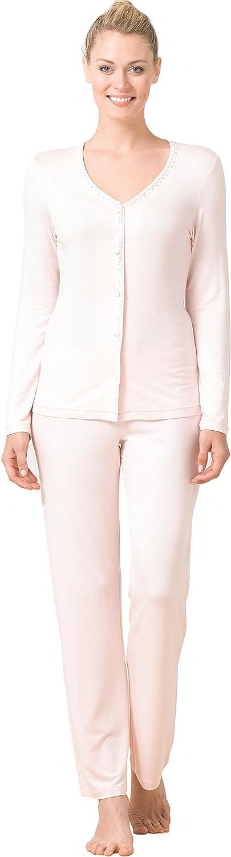 Blackspade - Pijama - para Mujer Rosa Rosa XX-Large: Amazon ...