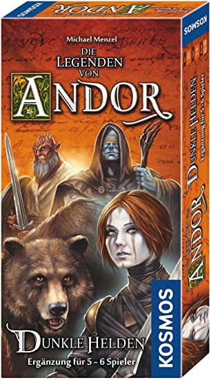von KOSMOS Die Legenden von Andor für 5-6 Dunkle Helden