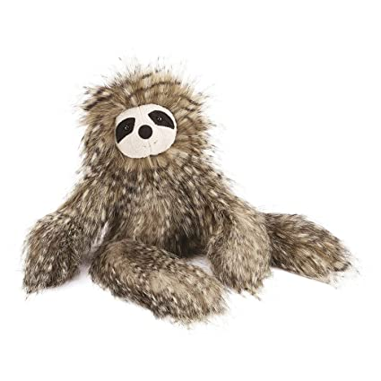 Amazon Com Jellycat Mad Pet Cyril Sloth 16 Inches Toys Games