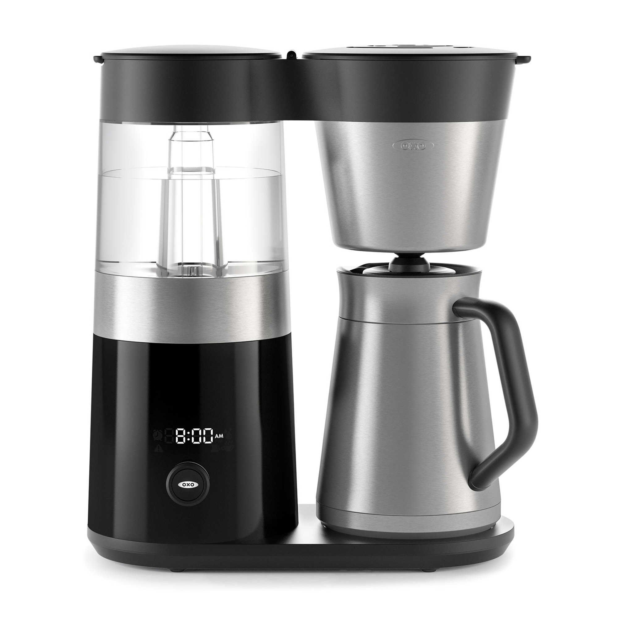 OXO On Barista Brain 9 Cup Coffee Maker (with 100-Count Number 4 Natural Brown Super Premium Coffee Filters and 14 oz. Descaling Solution) by by OXO (Image #4)