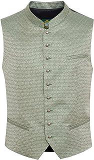 Hammerschmid Herren Trachten-Mode Trachtenweste Julian in Grün traditionell