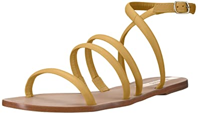 a946a3a3e KAANAS Women s DIAMANTINA Strappy Flat Leather Sandal