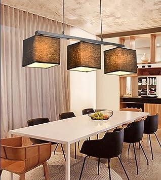 LED-Lampen kreative amerikanisches Land Stoff moderne ...