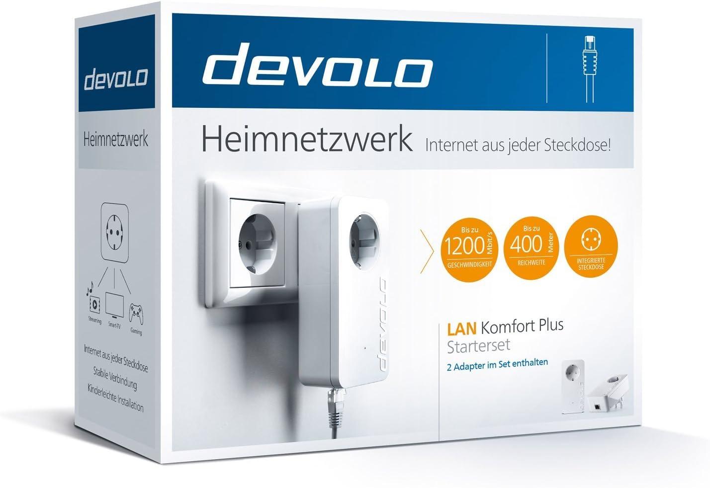 Devolo Lan Komf Plus Starters Elektronik