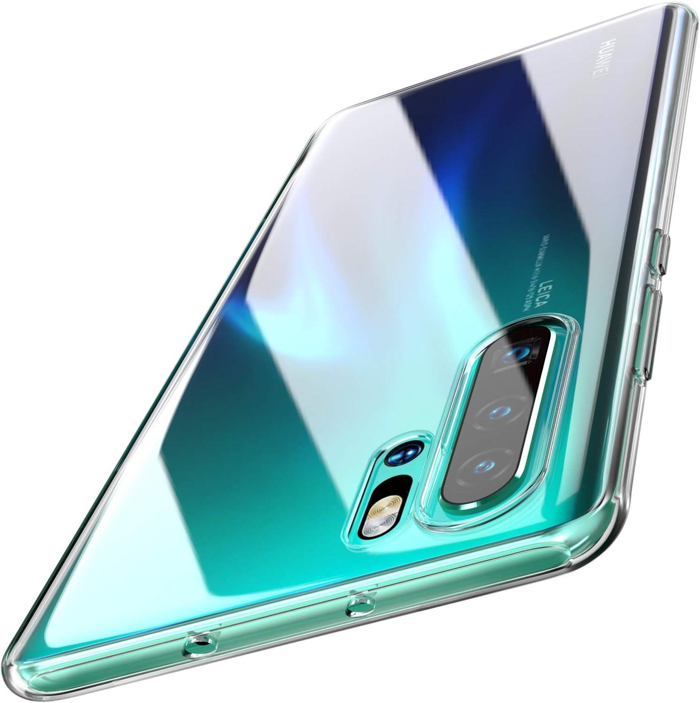 TOZO para Huawei P30 Pro Funda, 6,4 Inch (2019) Piel de Gel Suave ...