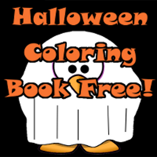 Halloween Coloring Book -