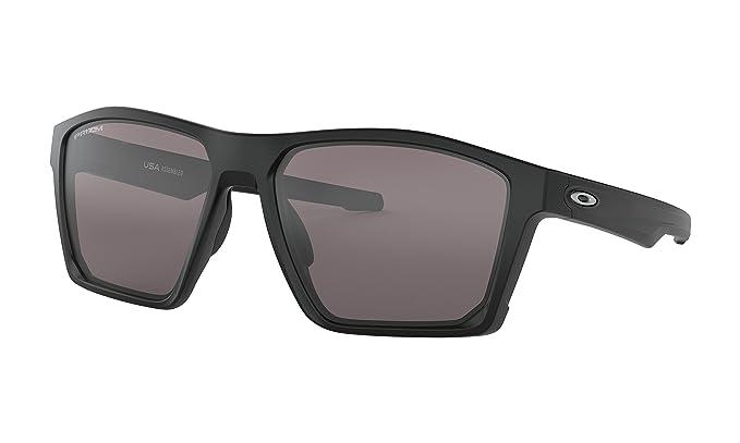 6673a415b7b Image Unavailable. Image not available for. Color  Oakley Targetline Sunglasses  Matte Black with Prizm Black Iridium Lens ...