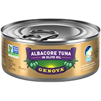 Genova Albacore Tuna in Olive Oil, 5 Ounce (Pack of 12)